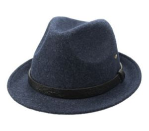 Navy Felt Formal Hat pictures & photos