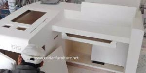 Acrylic Solid Surface Desk for Bank /Bank Furniture pictures & photos