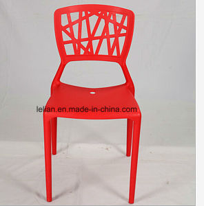 Outdoor Colorful Stackable Armless Side Chair (LL-0039) pictures & photos