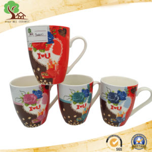 New Design Colorful 13 Oz Ceramic Milk, Coffee Mug pictures & photos