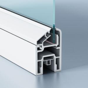 Clear Anodized Closet Door Aluminum Profile pictures & photos