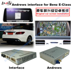 Android GPS Navigation System Video Interface for Mercedes-Benz E Class (NTG-4.5) pictures & photos