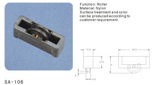 Window and Door Sash Pulley/ Roller (SA-106) pictures & photos