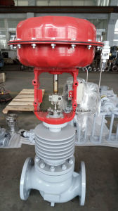 High Temperature Pneumatic Globe Type Control Valve pictures & photos