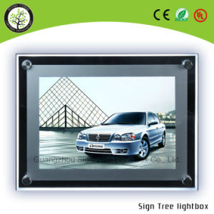 Advertising Display Slim LED Crystal Light Box pictures & photos