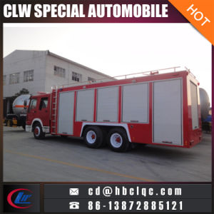 Good Quality Sino 3000gal 5000gal Fire Extinguisher Vehicle Fire Fighting Truck pictures & photos