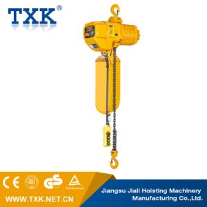 250kg to 5ton Electric Chain Hoist with Hook Suspension pictures & photos