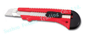 Standard Snap off Cutter Blade Snap Blade Utility Knife (FUK02) pictures & photos
