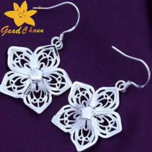 Stse-16113003 Flower Fashion Sterling Silver Pendants Earrings pictures & photos