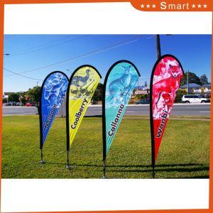 Custom Logo Print Teardrop Beach Flag Advertising Flying Banner pictures & photos