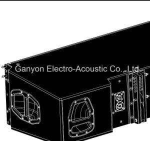 "J8 Dual 12"" Line Array Speaker, Professional Loudspeaker pictures & photos"