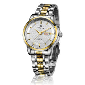 Jewellery Automatic Stainless Steel Gear Bezel Men Business Watch pictures & photos