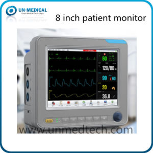 Hot - 8 Inch Portable Patient Monitor with Multi-Communication Interface pictures & photos