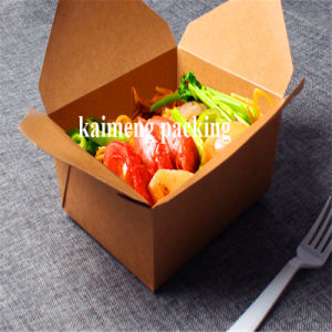 China Kraft Paper Disposable Tableware Paper Food Package Boxes (paper box) pictures & photos