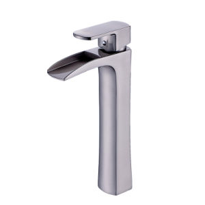 Flg Deck Mounted Single Lever Vessel Faucet Bathroom Tap pictures & photos