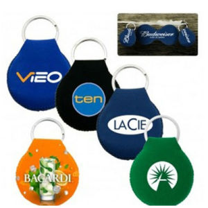 Wholesale Colorful Personalized Logo Custom Neoprene Keychain pictures & photos