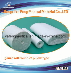 "Hot Sale High Quality Absorbent Gauze Roll 36""X 100y-4ply pictures & photos"