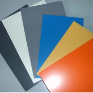 PVC Foam Sheet PVC Hard Sheet, High Quality White Glossy Plastic Sheet pictures & photos