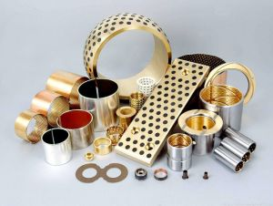 Flanged Bushings Self Lubricating Composite Oilless Slide Plain Bearings pictures & photos