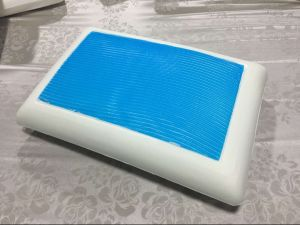 Cooling Gel Visco-Elastic Memory Foam Pillow pictures & photos