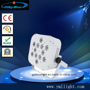 12*6in1 RGBWA+UV Wireless DMX LED PAR Light, Battery Power LED PAR Light, /Wireless LED Lighting/Wireless Battery LED Wall Washer pictures & photos