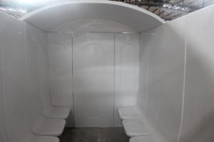 Family Using Hot Sale Acrylic Wet Steam Room 4A pictures & photos