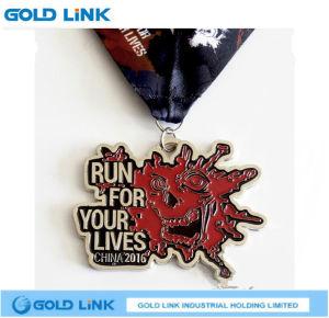 High Quality Irregular Metal Medals Custom Enamel Medal Souvenir pictures & photos