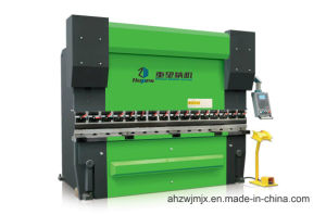 We67k 100t/3200 Electro-Hydraulic Dual Servo Synchronous CNC Press Brake pictures & photos