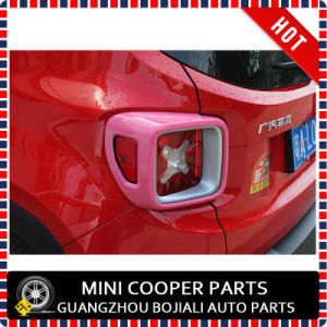 Auto Accessory ABS Material Pink Style Rear Lamp Cover for Renegade Model (2PCS/SET) pictures & photos