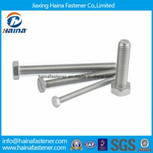 Stock DIN933 Full Threaded Stainless Steel Hexagon Bolt pictures & photos