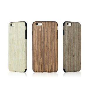 Wooden Case Shockproof Cover Drop Protection Phone Case Heavy Duty Tabpow Dual Layer Slim Hybrid Wood Case Cover for Samsung J Series pictures & photos