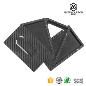 Wear-Resistant Durable Carbon Fiber Credit & ID & Business Card Holder New Arrival Sublimation Card Clip pictures & photos