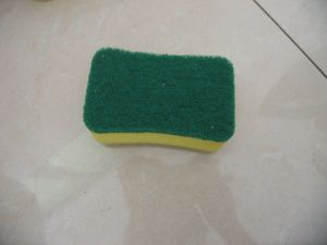 High Quality Dish Washing Nylon Scouring Pad with Nylon Oxide pictures & photos