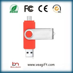 Colorful Swivel Gadget OTG USB Pendrive pictures & photos