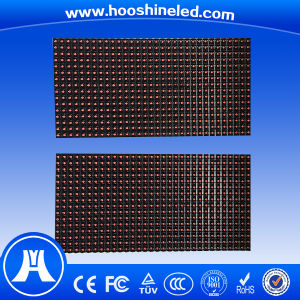 Stable Performance Outdoor Single Red Color P10 Electronic Display Boards pictures & photos