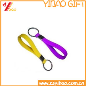 High Quality Promontional Customized Logo Silicone Key Chain pictures & photos