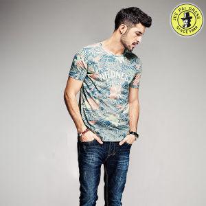 Wholesale Latest Design OEM 100% Cotton Summer Shirts for Men Round Neck T-Shirt pictures & photos