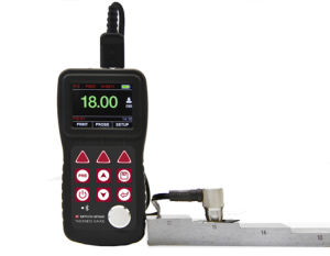 Mt600 Large Range of Thickness Tester with USB Port Can Connect to PC