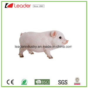 Polyresin Hand Painted Realistic Standing Pig for Garden Ornament&Outdoor Statues pictures & photos