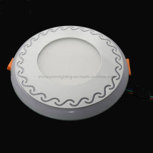 Round Two Color Panel 12+4W LED Panel Light