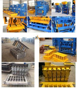 Fully Automatic Cement Hollow Brick Making Machine/Concrete Block Machine /Cement Concrete Block pictures & photos