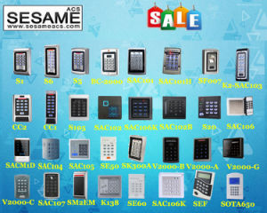 125kHz Password Illuminated Keypad Standalone Controller 1000 Users (SAC101) pictures & photos