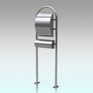 Gh-1314r1u3 Rustproof Stainless Steel Standing Mailbox pictures & photos