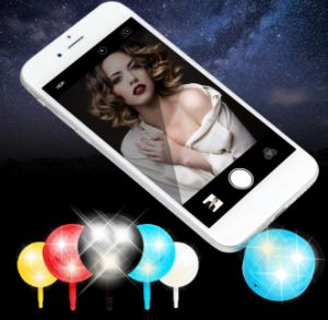 Cold-Warm Light Smiling Face Flash Fill-in Light for Smart Phone pictures & photos