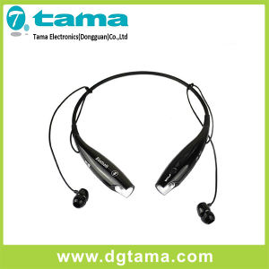Hbs-730 Wireless Bluetooth Stereo Headset Black Red Neckband for Smartphone pictures & photos
