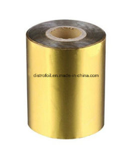 Multiple Width 10-1280mm Metallic Gold Hot Foil Stamp Roll pictures & photos