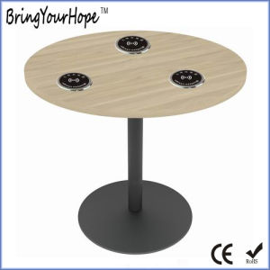 Hot Selling Embedded Table Desk Wireless Charger for Phones (XH-PB-051) pictures & photos