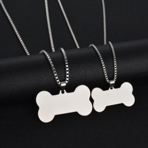 Personalized Custom Jewelry Fashion Necklace Dog ID Card Pendant pictures & photos