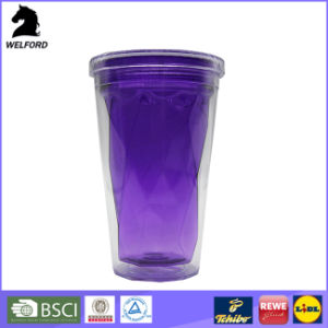 Plastic Double Wall Mug with Skull Design pictures & photos