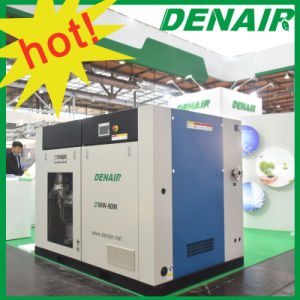 Silent Stationary Oilless Oil-Free Oil Less Rotary Screw Air Compressor Manufacturer pictures & photos